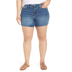 Plus-size denim shorts from Nordstrom photo