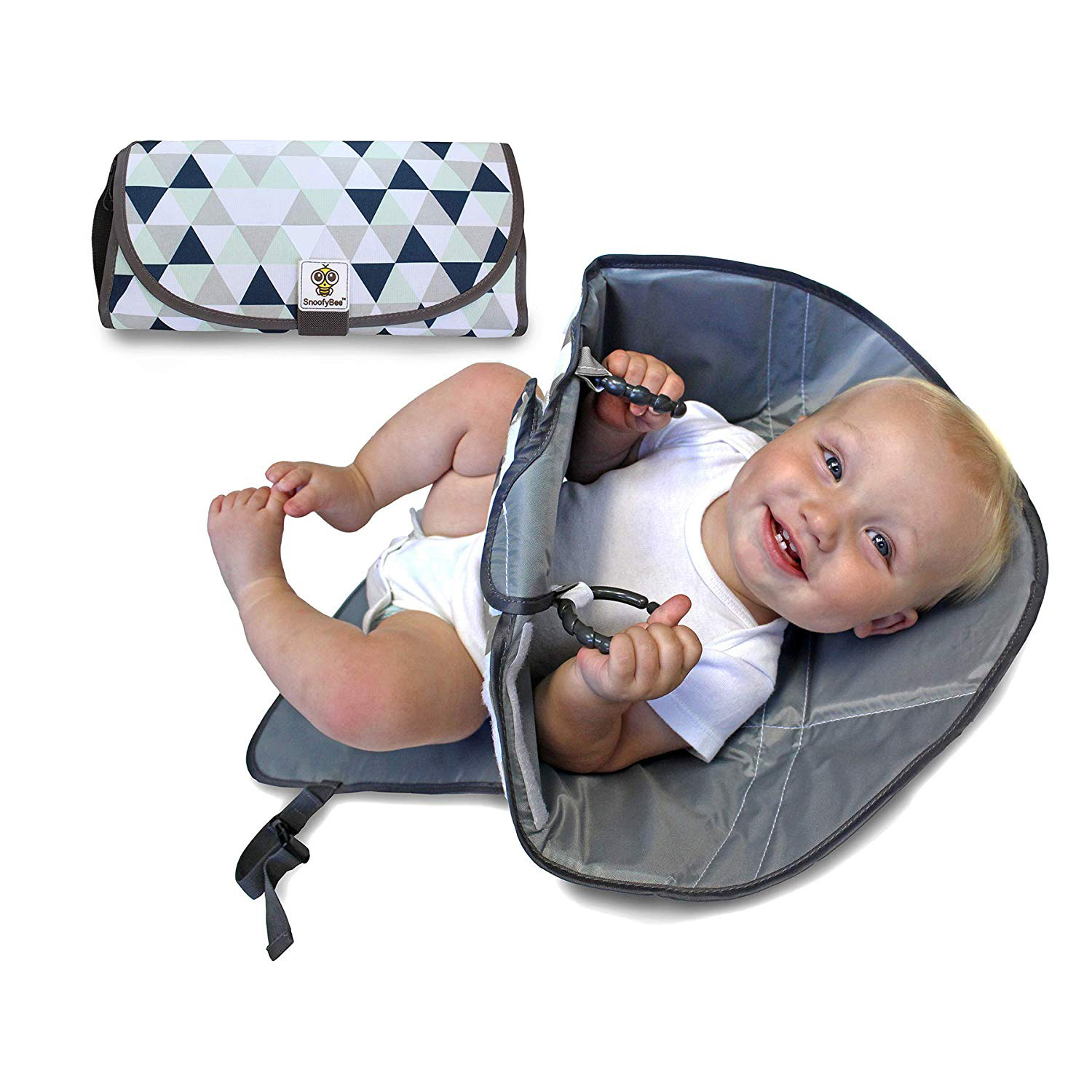 SnoofyBee Portable Clean Hands Changing Pad photo