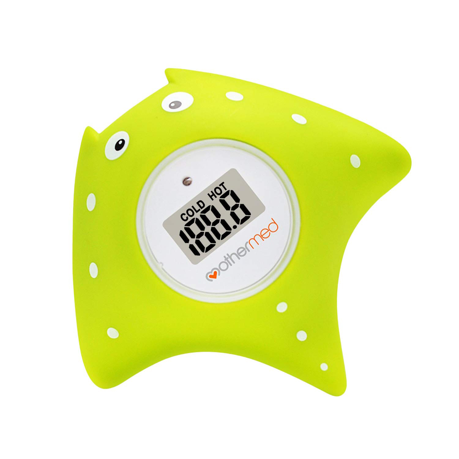 MotherMed Baby Bath Thermometer and Toy green photo