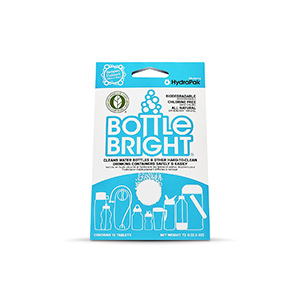 Bottle Bright Biodegradable Bottle Cleaning Tablets photo