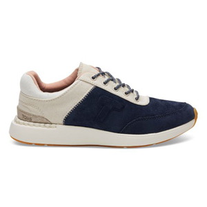 Navy sneakers by TOMS photo