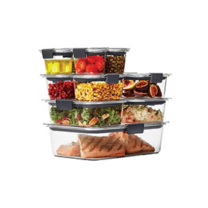 Rubbermaid food storage containers photo