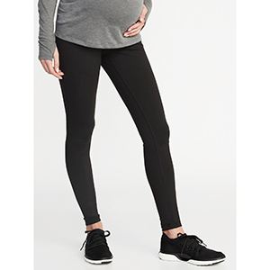 Old Navy Maternity High Rise Elevate Compression Leggings photo