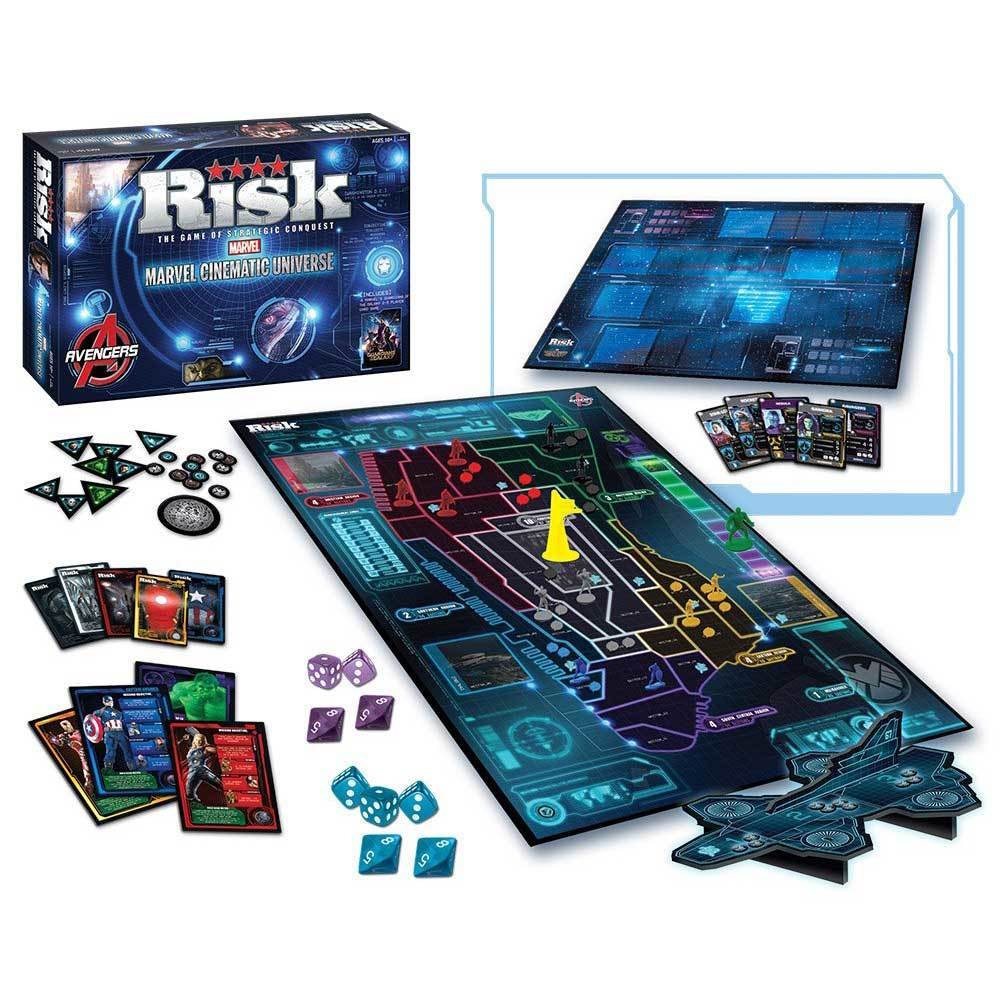 Risk: Marvel Cinematic Universe Board Game photo