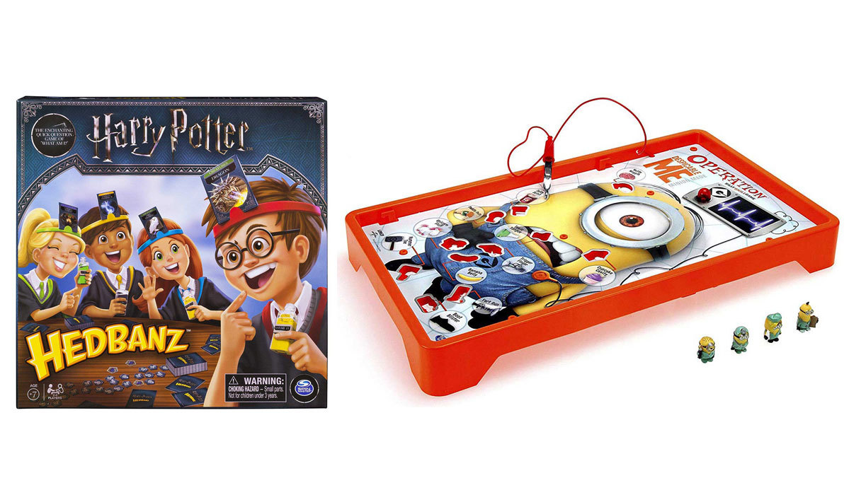 Family Board Games That Star Your Favorite Movie, TV and Video Game Characters
