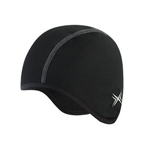 Black and rounded cap photo
