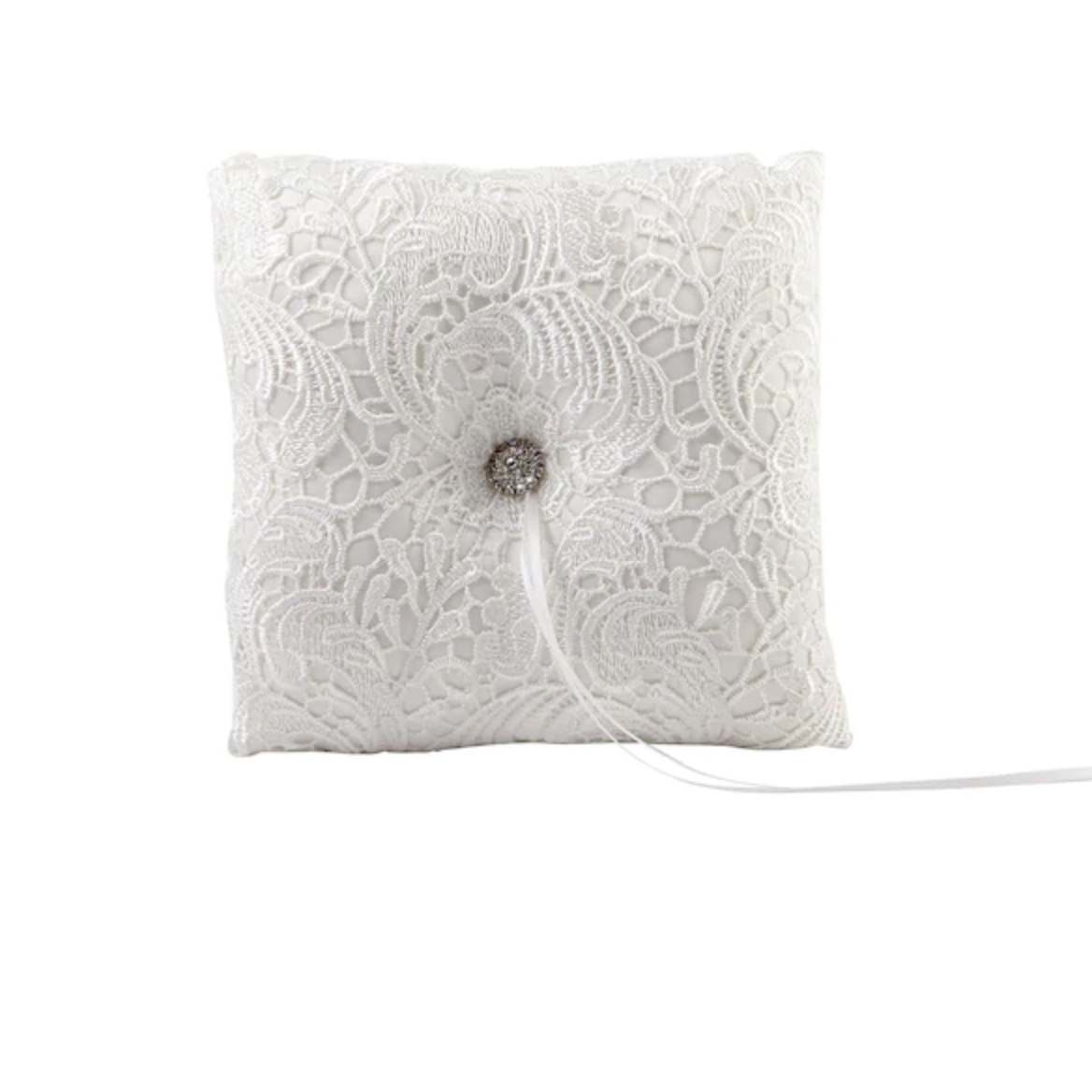 Vintage Lace Ring Bearer Pillow by Celebrate It Occasions Michaels photo