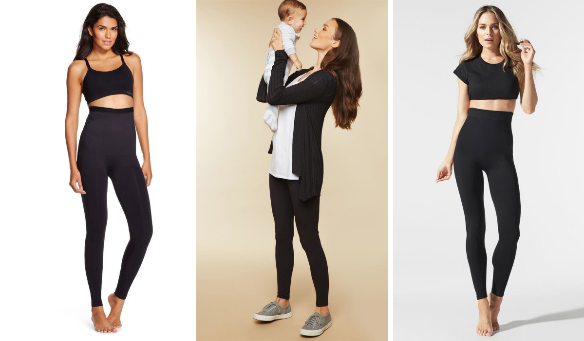 sports shoes 6c155 b6b9e The Best Control-Top Postpartum Leggings for After Baby