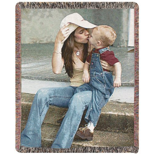 Personalized Throw Blanket photo