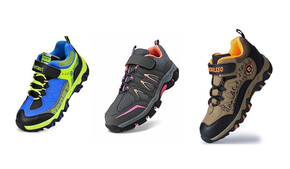 competitive price 106fc ac03a Best Hiking Shoes for Kids