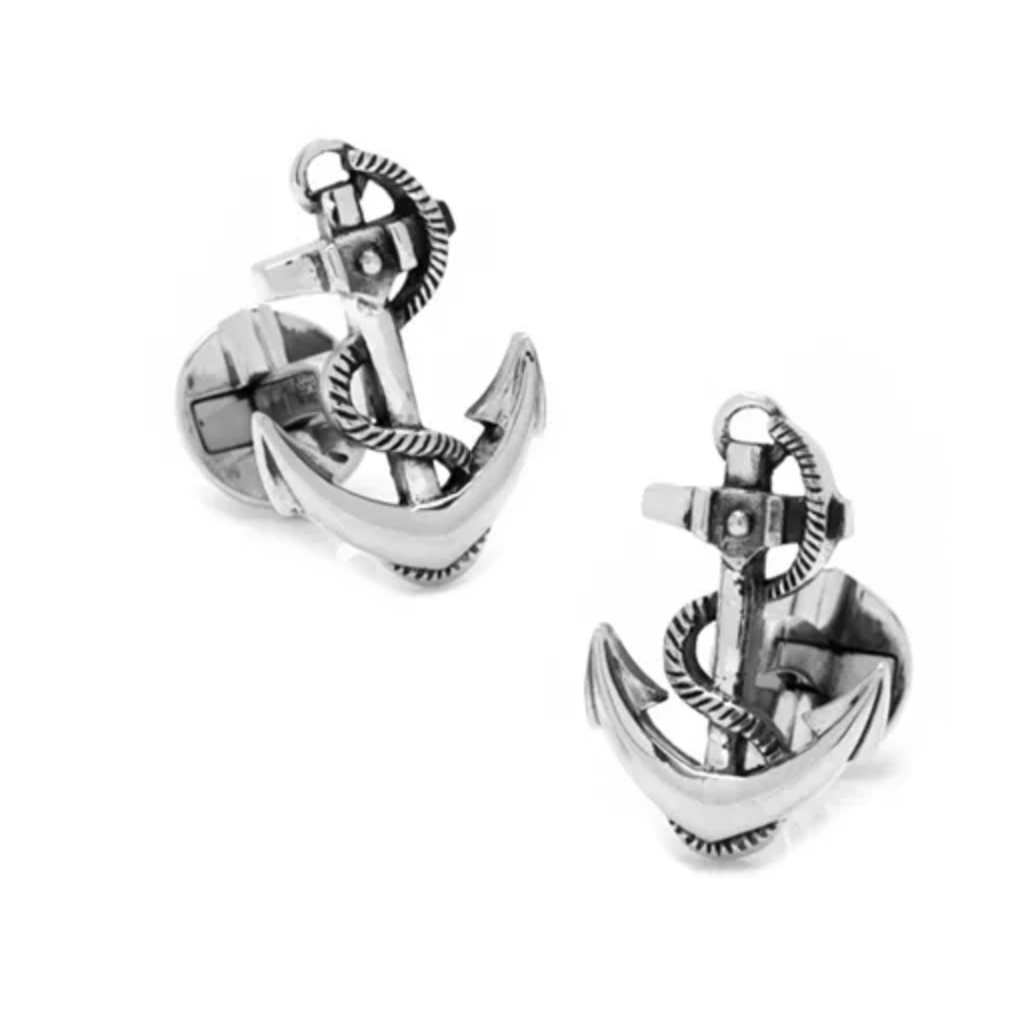 Sterling Boat Anchor Cufflinks Macy's photo