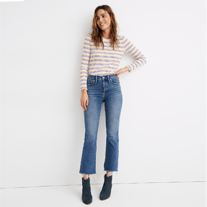 Demi-boot cut jeans from Madewell photo
