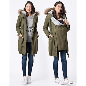 Seraphine 3-in-1 Maternity Parka photo