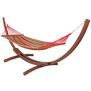 Best Choice Hammock with Wood Stand photo