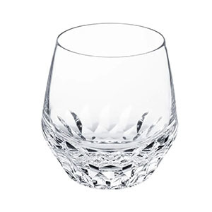 Clear Crystal Stemless Wine glass photo