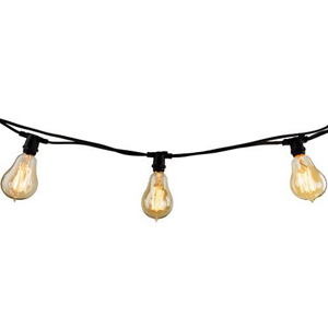 Patio string lights from One Kings Lane photo