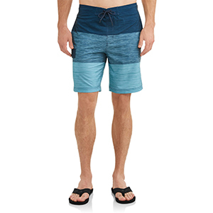 Blue colorblocked men's George swim short photo