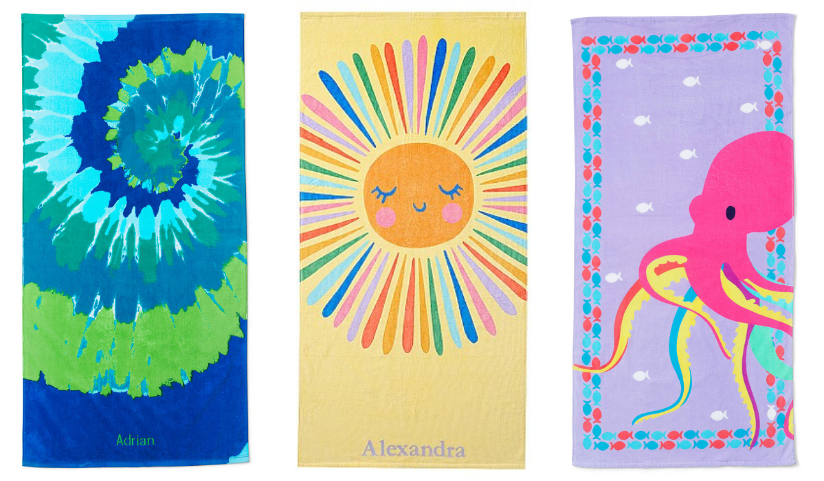 The Best Beach Towels for Kids
