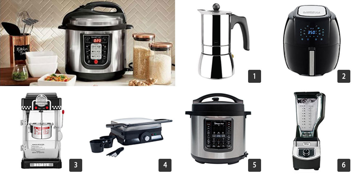 Small kitchen appliances from The Home Depot's Memorial Day savings event photo