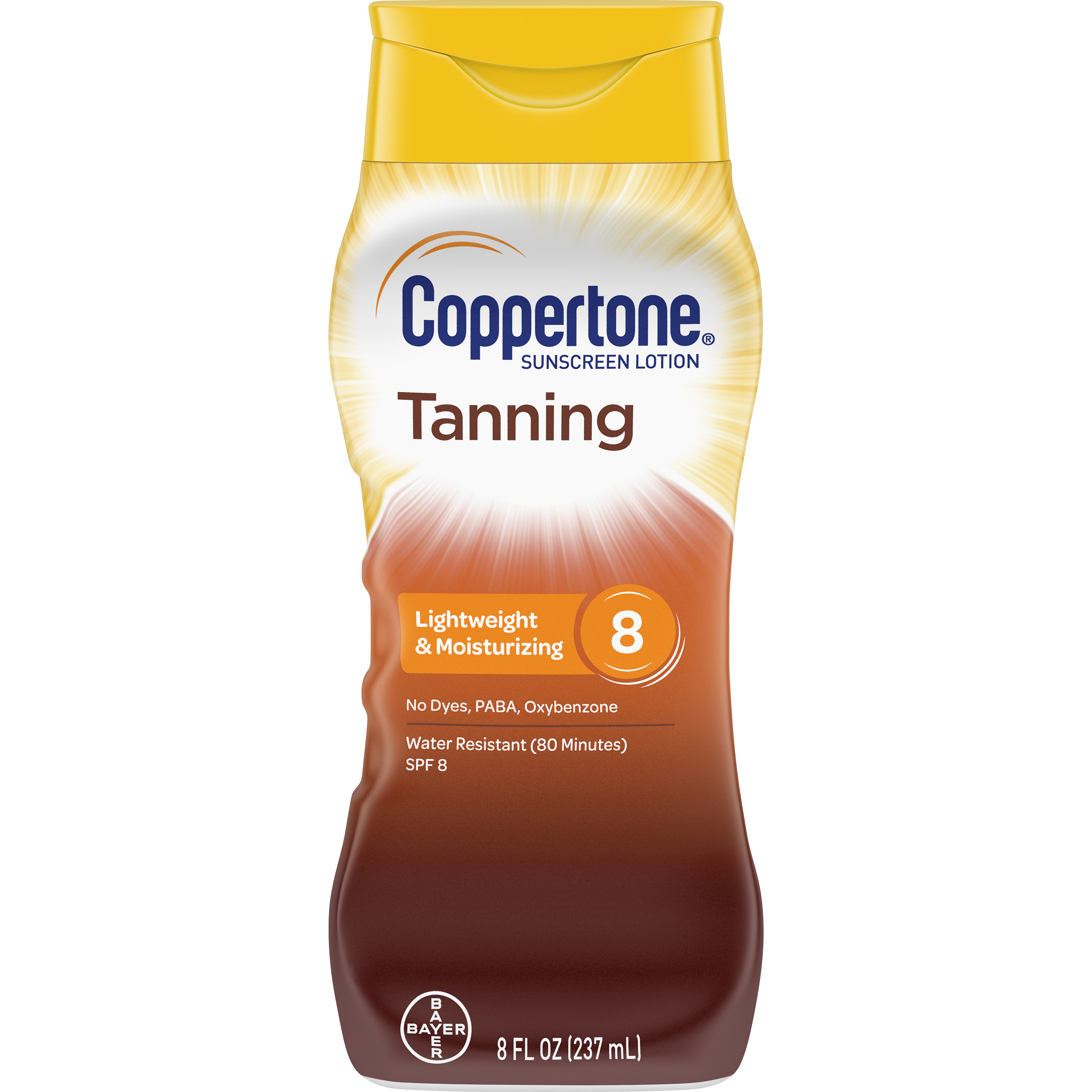 Coppertone Tanning Defend & Glow Sunscreen photo