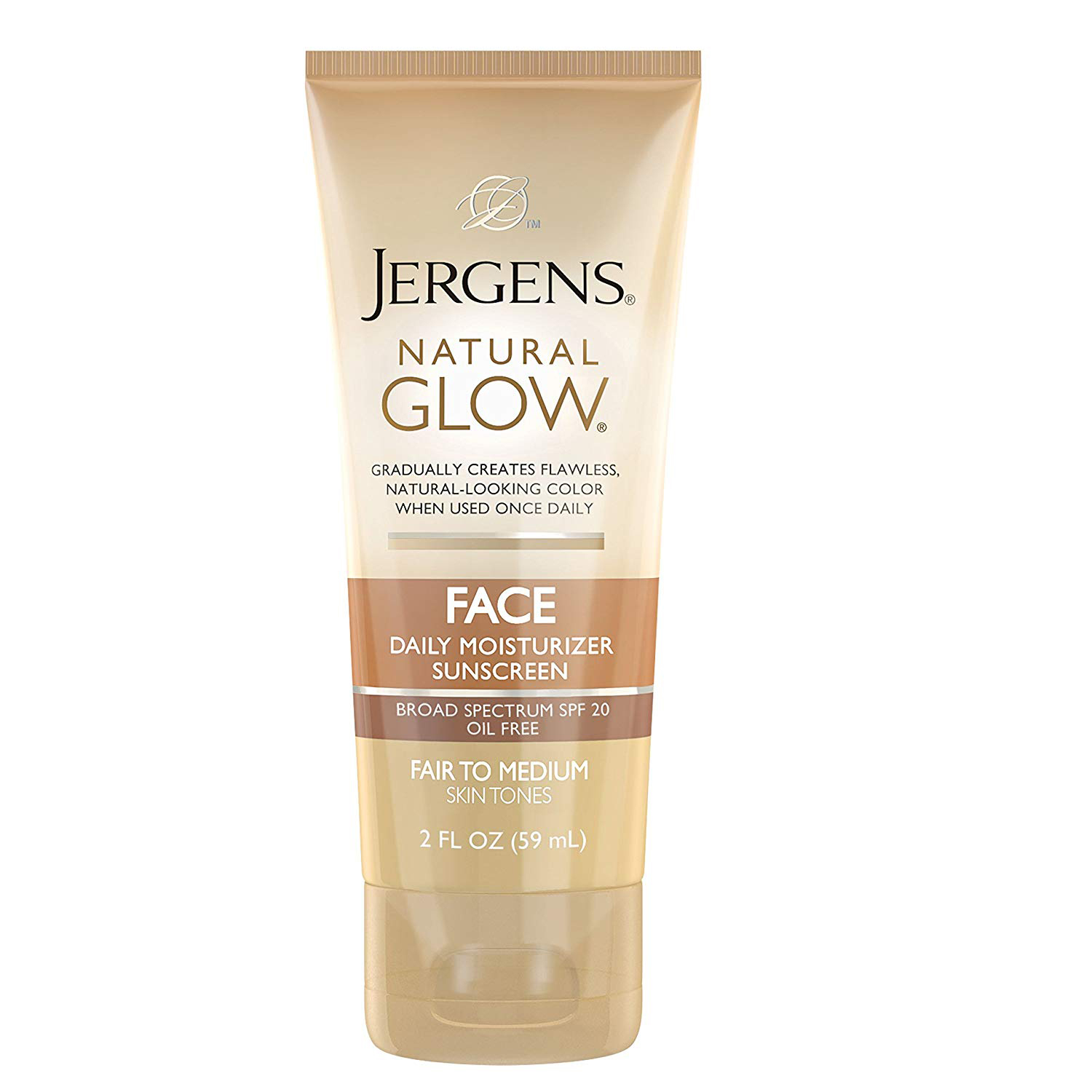 Jergens Natural Glow Oil-Free Daily Moisturizer for Face photo