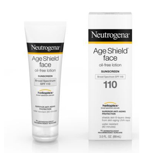 Anti-aging face sunscreen from Walmart photo