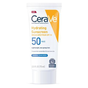Hydrating face sunscreen from Walmart photo