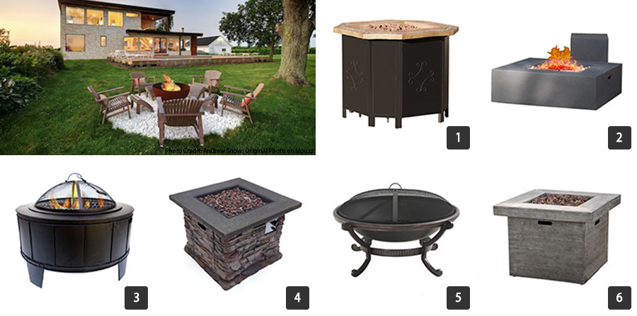 Houzz Memorial Day sales on fire pits photo