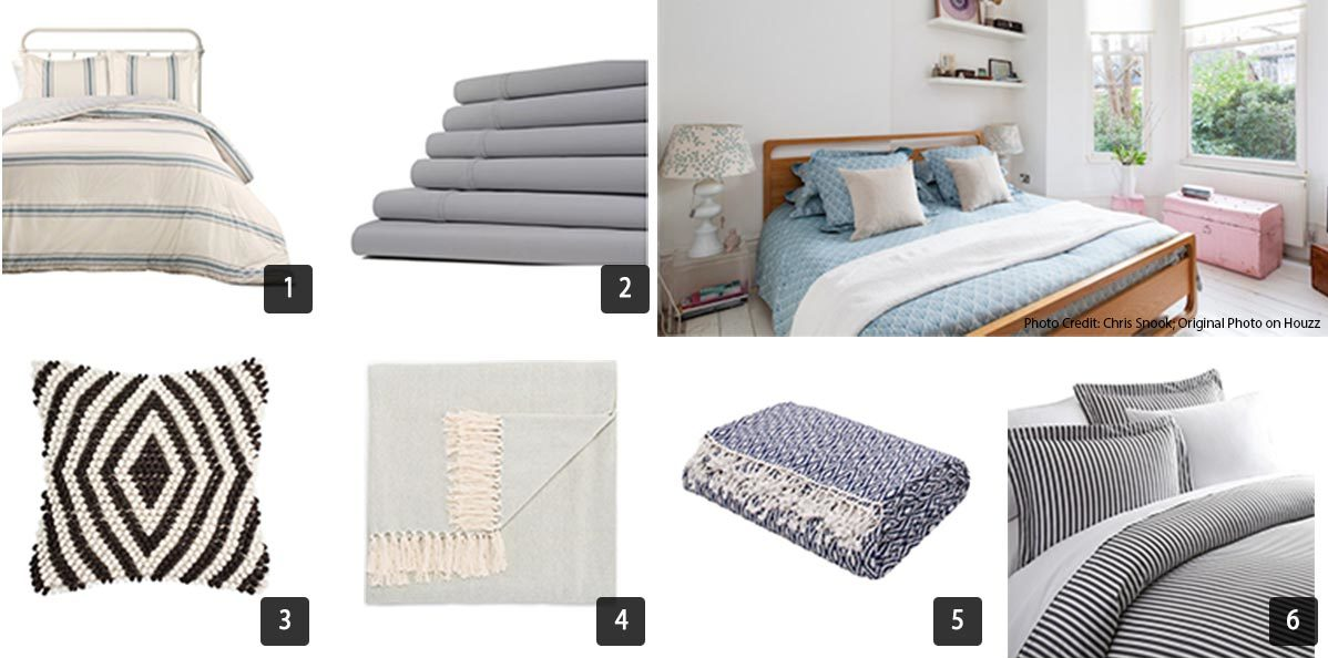 Houzz Memorial Day sales on bedding photo