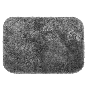 Dark gray bath mat photo