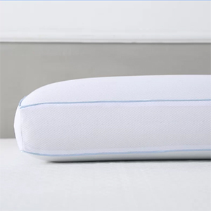 Plush white Cool Sleep Ventilated Memory Foam Cooling Bed Pillow photo