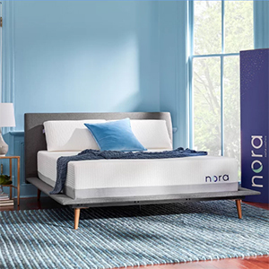 Nora Mattress in a bedroom photo
