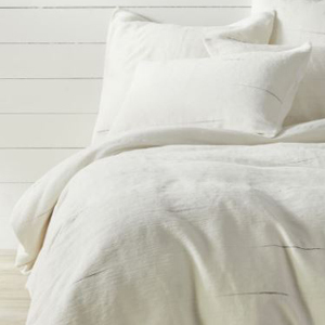 Space dyed stripe duvet cover photo
