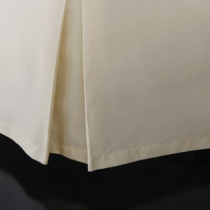 Champagne bed skirt from Nordstrom photo