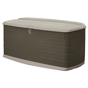 Rubbermaid Large Outdoor Box with Seat photo