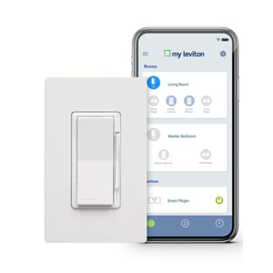 Leviton smart dimmer from The Home Depot photo