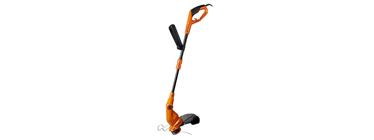Electric string trimmer photo