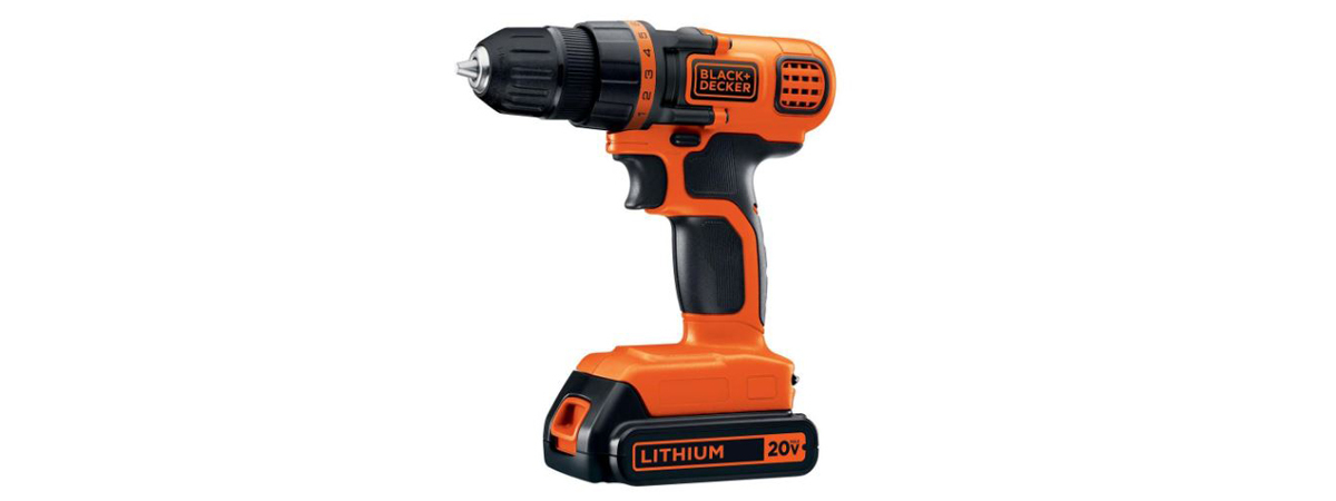 Battery-powered drill by Black + Decker photo