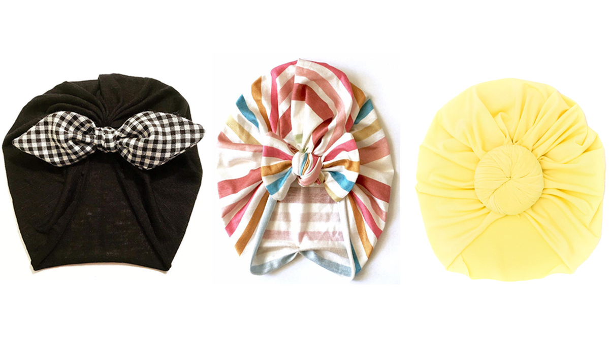 The Cutest Headwear for Babies