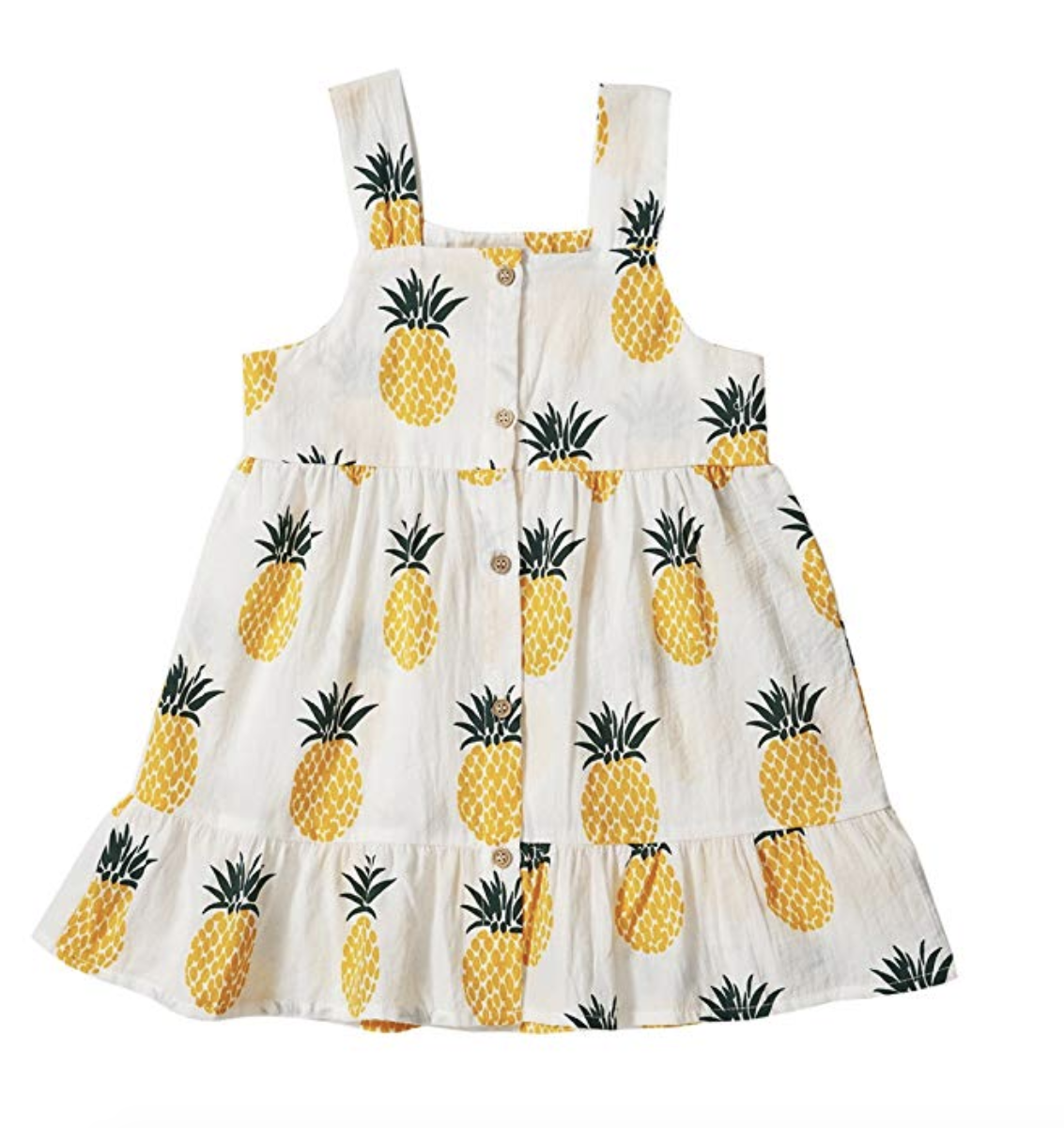 Pineapple Sundress for Toddlers photo