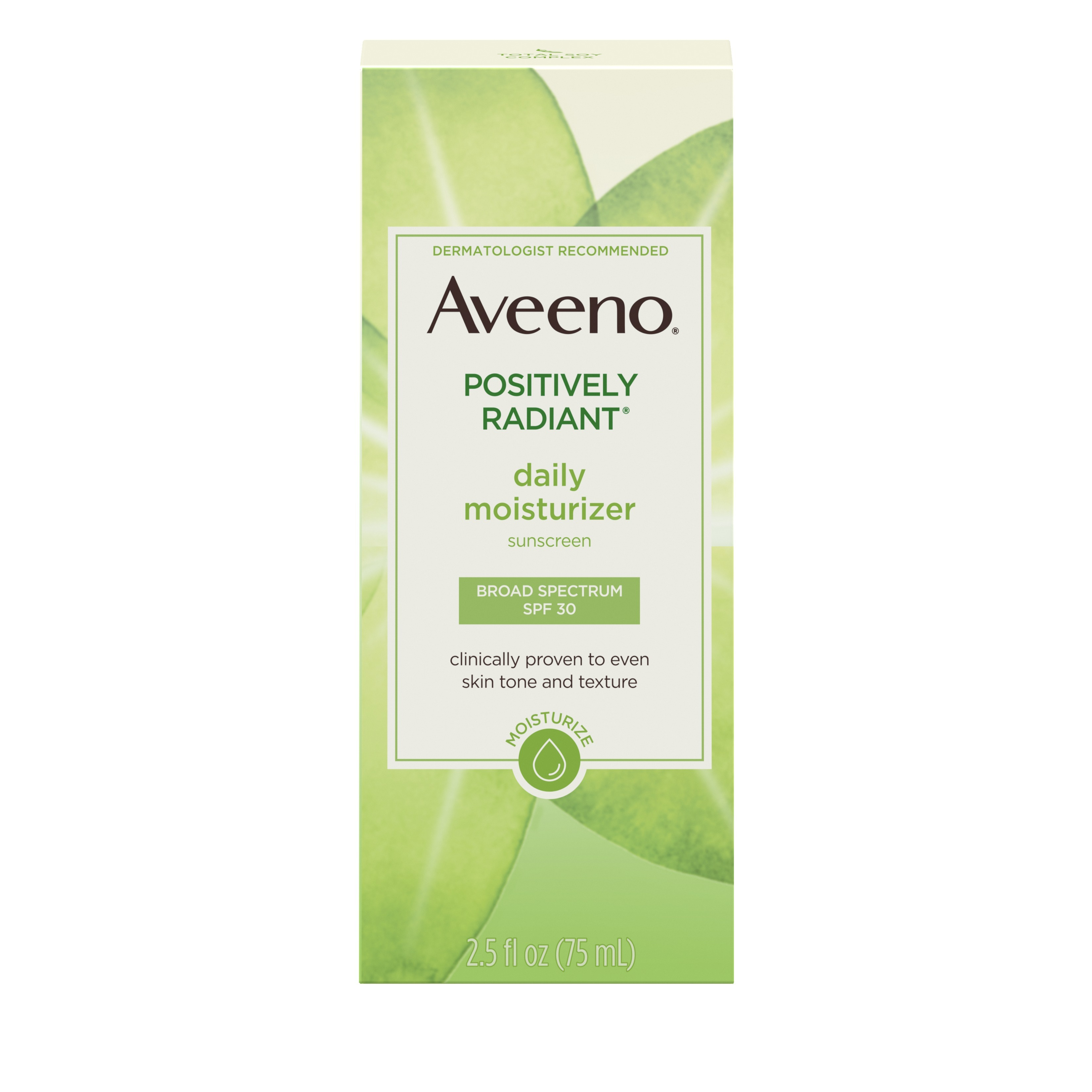 Aveeno Positively Radiant Daily Moisturizer with Soy photo
