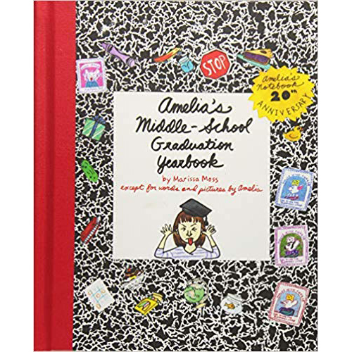Amelia's Middle-School Graduation Yearbook by Marissa Moss photo