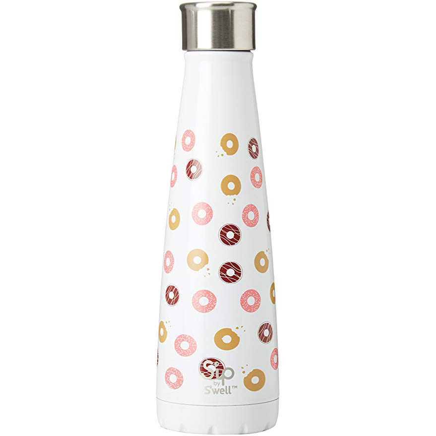 S'well Water Bottle donut print photo