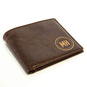 Personalized Leather Wallet photo