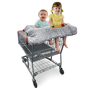 Double Shopping Cart Cover photo