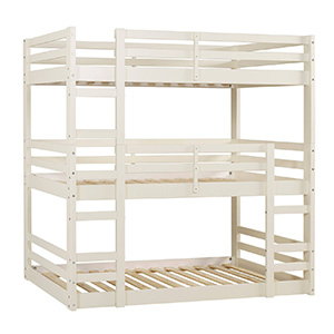 Solid Wood Triple Bunk Bed photo