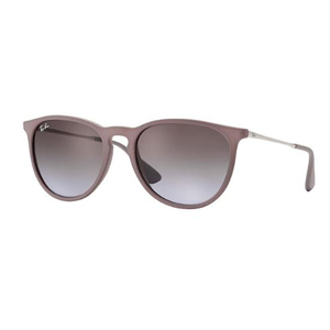 Classic Ray-Ban sunglasses in brown and violet photo