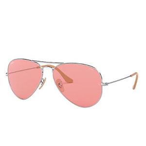 Sunglasses with pink lenses photo