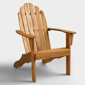 Wooden adirondack chair from World Market photo