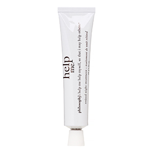 White tube of Philosophy Help Me Retinol Night Treatment photo